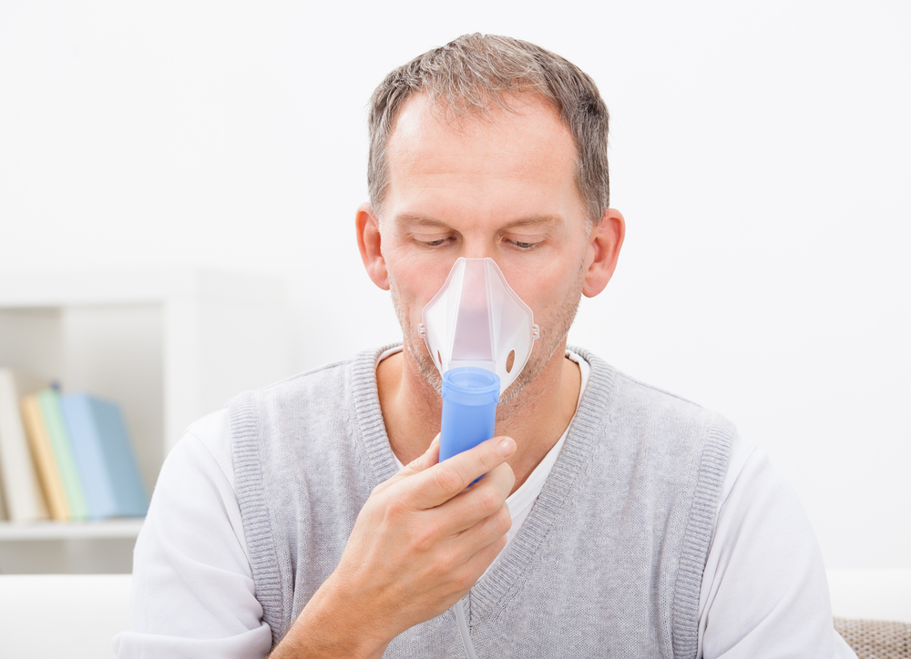 COPD patient suffering an exacerbation