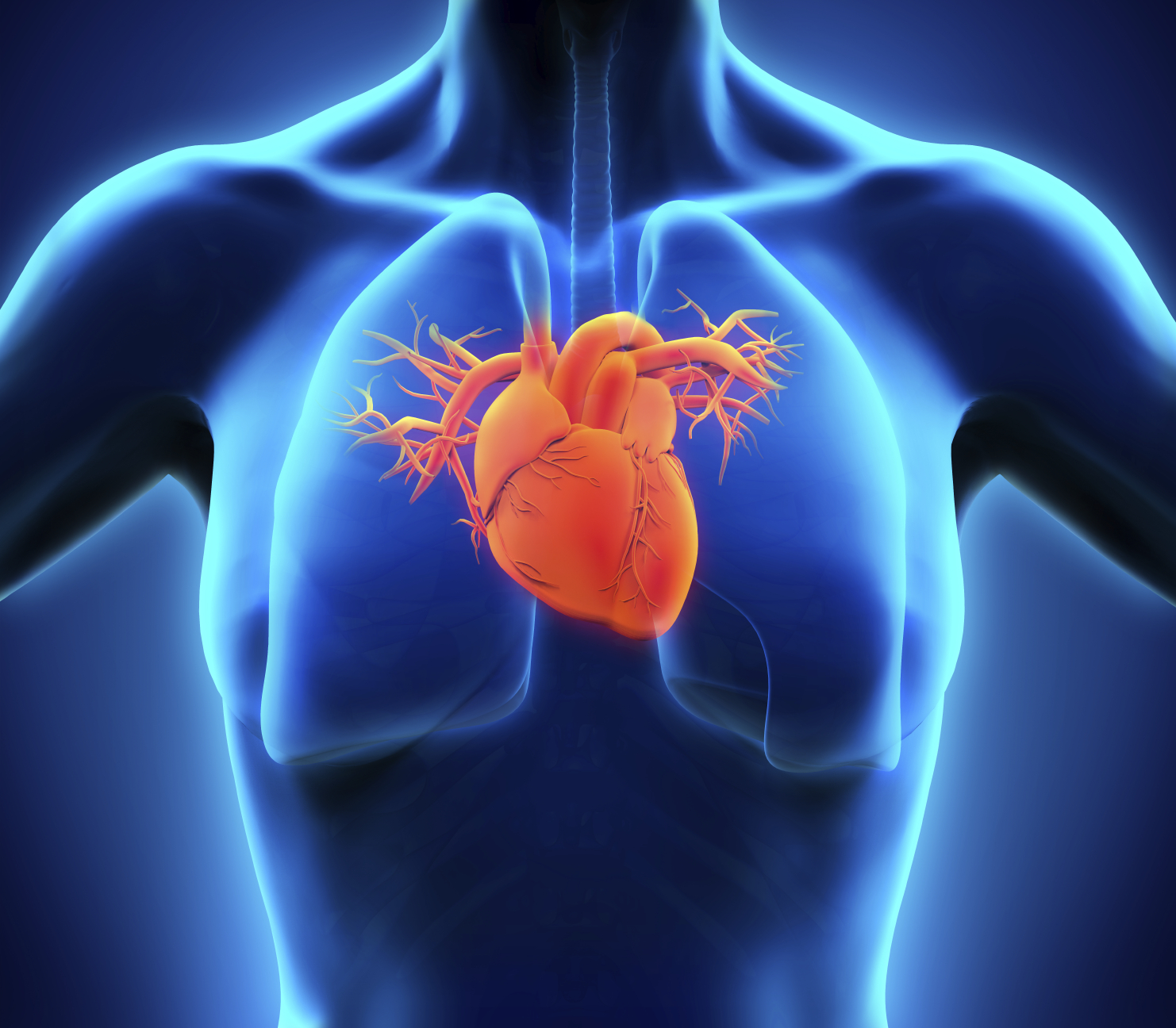 Chronic heart issues caused by diabetes