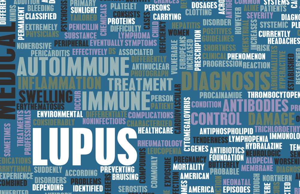 Words used to describe lupus and it's chronic symptoms