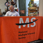 Sporting Orange for Multiple Sclerosis Awareness Month