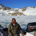 Inuit man who took part in a heart healthy clinical study